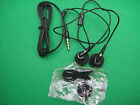 3.5mm Earphone Headset With Remote Mic for Apple iPhone 5 4S 4G 3G 2G black