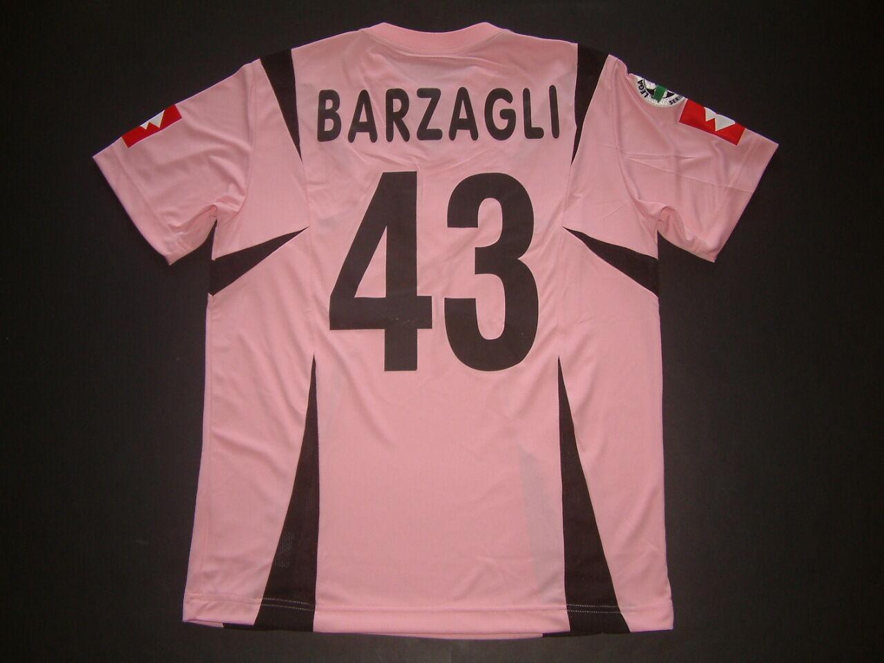 BARZAGLI BARZAGLI BARZAGLI PALERMO HOME match ausgegebenen Mc-ss 2006-2007 Legierung Fußball e9eb33