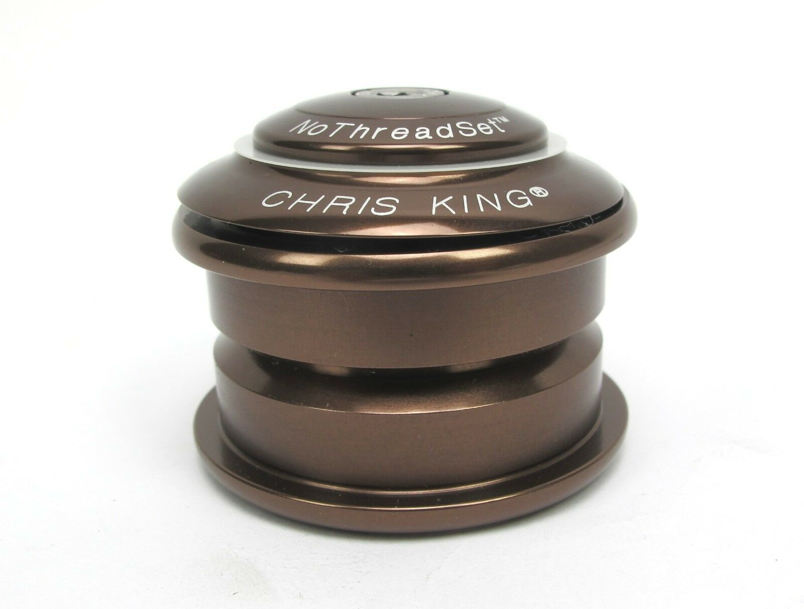 New Chris King i1 Inset 1 Headset - Brown - ZS44 ZS44 1 1 8  - 10 Year Warranty