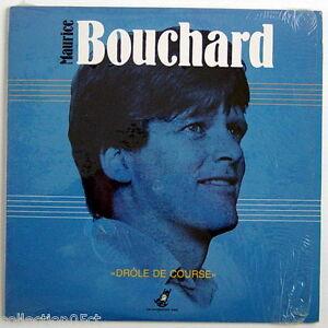 UN-DISQUE-33-TOURS-DE-MAURICE-BOUCHARD-DROLE-DE-COURSE