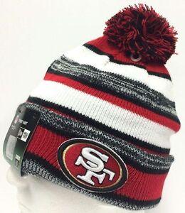 82df0ffdca2 2014-2015 San Francisco 49ers NEW ERA NFL SIDELINE SPORT KNIT Cap ...