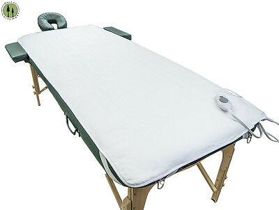 DELUXE MASSAGE TABLE WARMER 5 HEAT SETTINGS 3 TIME CONTROL SETTINGS