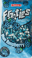 Frooties Blue Raspberry Fruit Flavored Chewy Candy 2.4lb Bulk Free Shipping