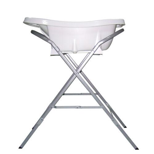 Aquascale Folding Baby Bath Tub Stand Only in Silver | eBay