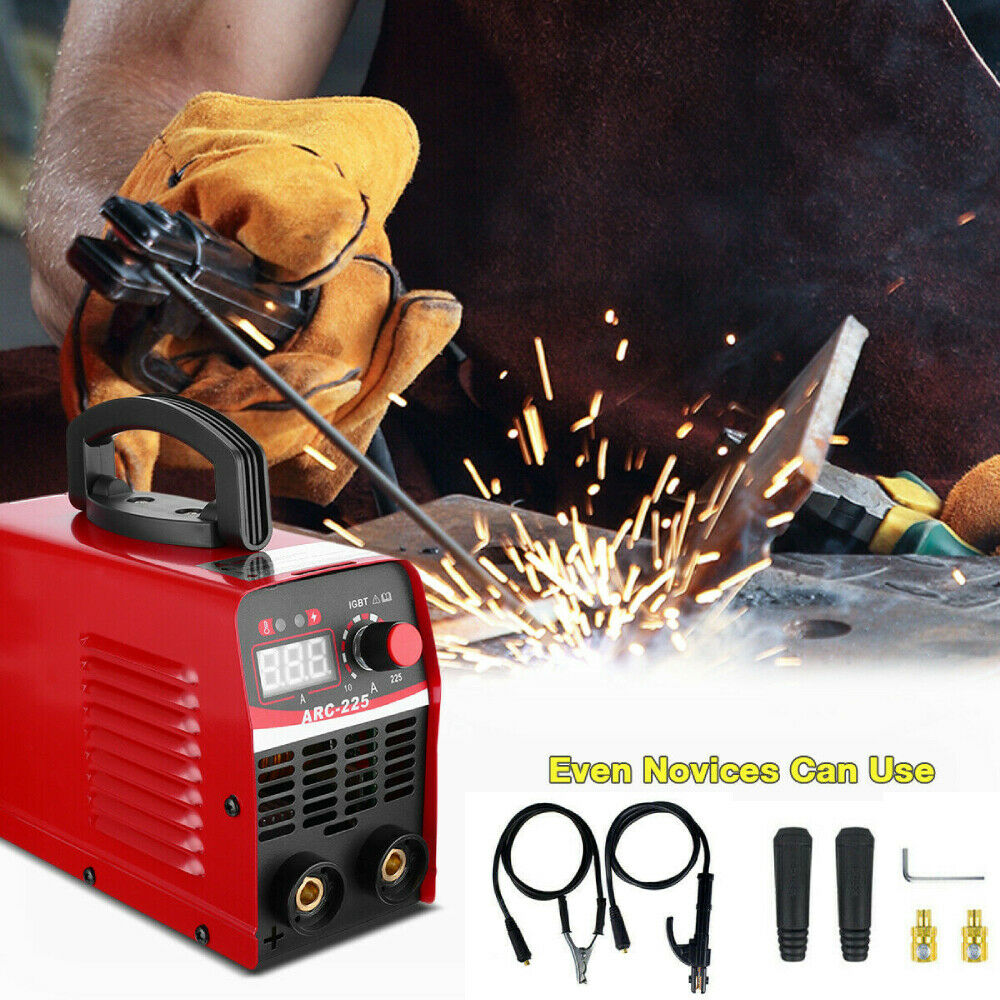 110V 10A-225A IGBT Mini Electric Welder Machine DC Inverter ARC MMA Stick Welder. Available Now for 78.99
