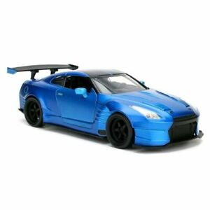 Jada Toys Fast and Furious 8 '09 Nissan GT R Ben Sopra 1:24 Scale Hollywood Ride
