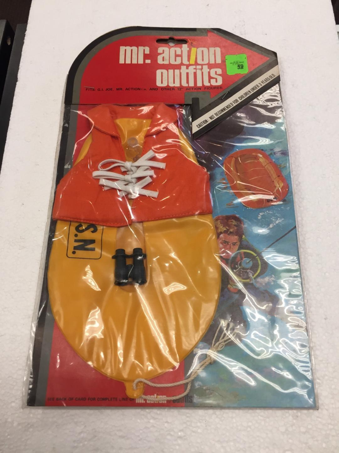 1975 Mr. Action Outfits Life Preserver by LJN