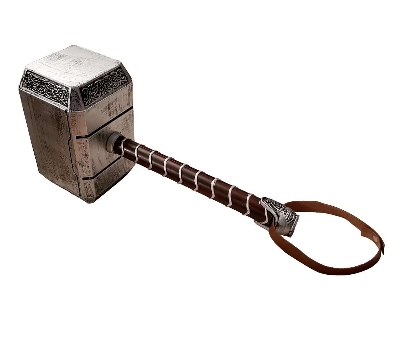 1:1 Thors Mjolnir Hammer SOFT FOAM Cosplay Fancy Dress SLIGHT SECONDS SALE 01