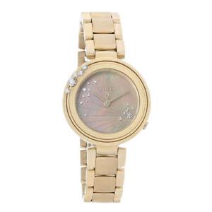 NEW-Citizen-Eco-Drive-EM0463-51Y-Carina-Rose-Gold-MOP-Diamond-Ladies-Watch
