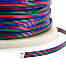 2/5/10/20m 4 Pin 5050 3528 LED RGB Strip Extension Connector Cable Wire
