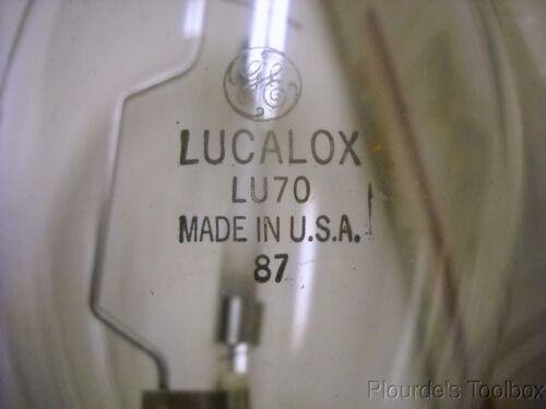 New GE Lucalox High Pressure Sodium 70W Lamp LU70