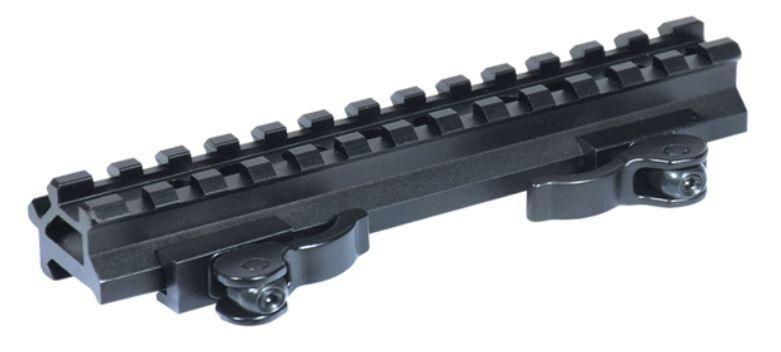 Leapers UTG QD Weaver Picatinny Double Rail 13 Slot Slot 13 Angle Mount Base - MAD13140 659ede
