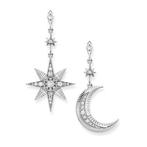 321f11376 Image is loading Genuine-Thomas-Sabo-Sterling-Silver-Royalty-Star-amp-