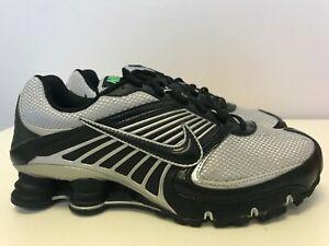Mens-Size-8-5-Nike-Shox-Turbo-8-Metallic-Silver-Black-Hypr-Vrd-344951-902
