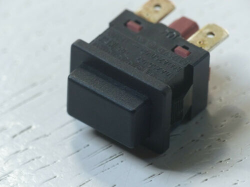 Push On Off Button Switch 250VAC 4A Black Snap 19X13MM 2pcs
