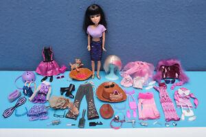 100% Vrai Liv Doll Verres Collector Mega Posh Set Sindy Vintage Chaussures-unique Accessoires-afficher Le Titre D'origine