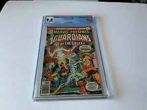 MARVEL-PRESENTS-7-CGC-9-8-WHITE-PAGES-GUARDIANS-OF-THE-GALAXY-MARVEL-COMICS-1976