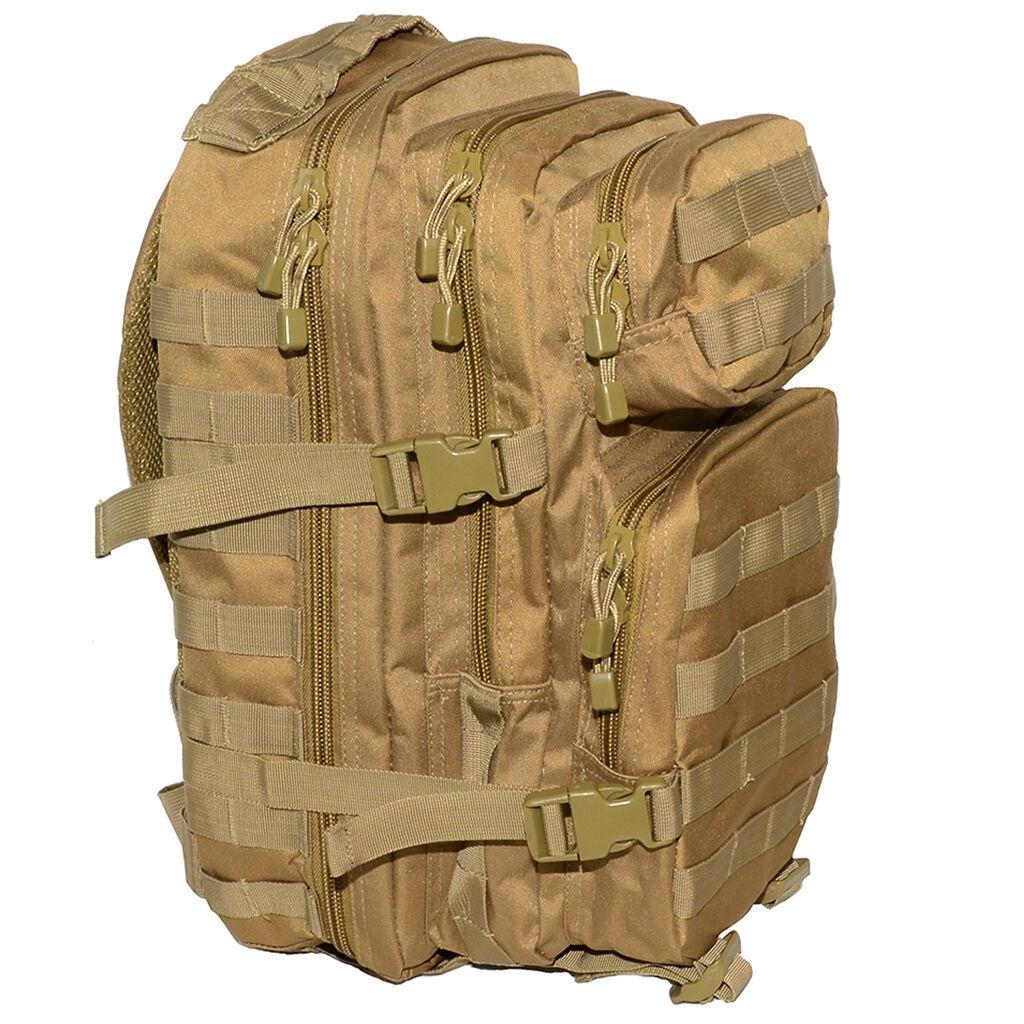 Coyote Molle ZAINO Assalto piccolo 20 L Zaino Tattico Esercito Pacco Giorni Pacco Esercito Sacca NUOVO fdb570