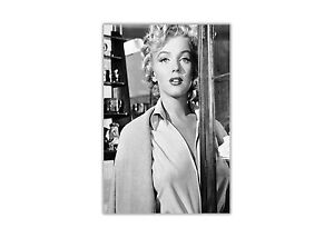 Black and White Marilyn Monroe Fashion Shoot Poster Prints Wall Art Pictures