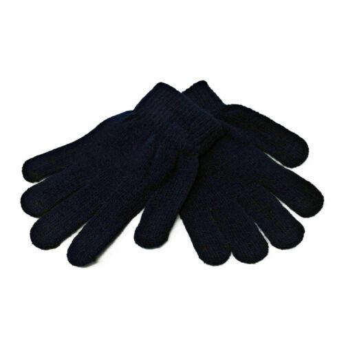 Kids Girls Boys Children Toddlers Mini Magic Winter Warm Soft Stretch Gloves