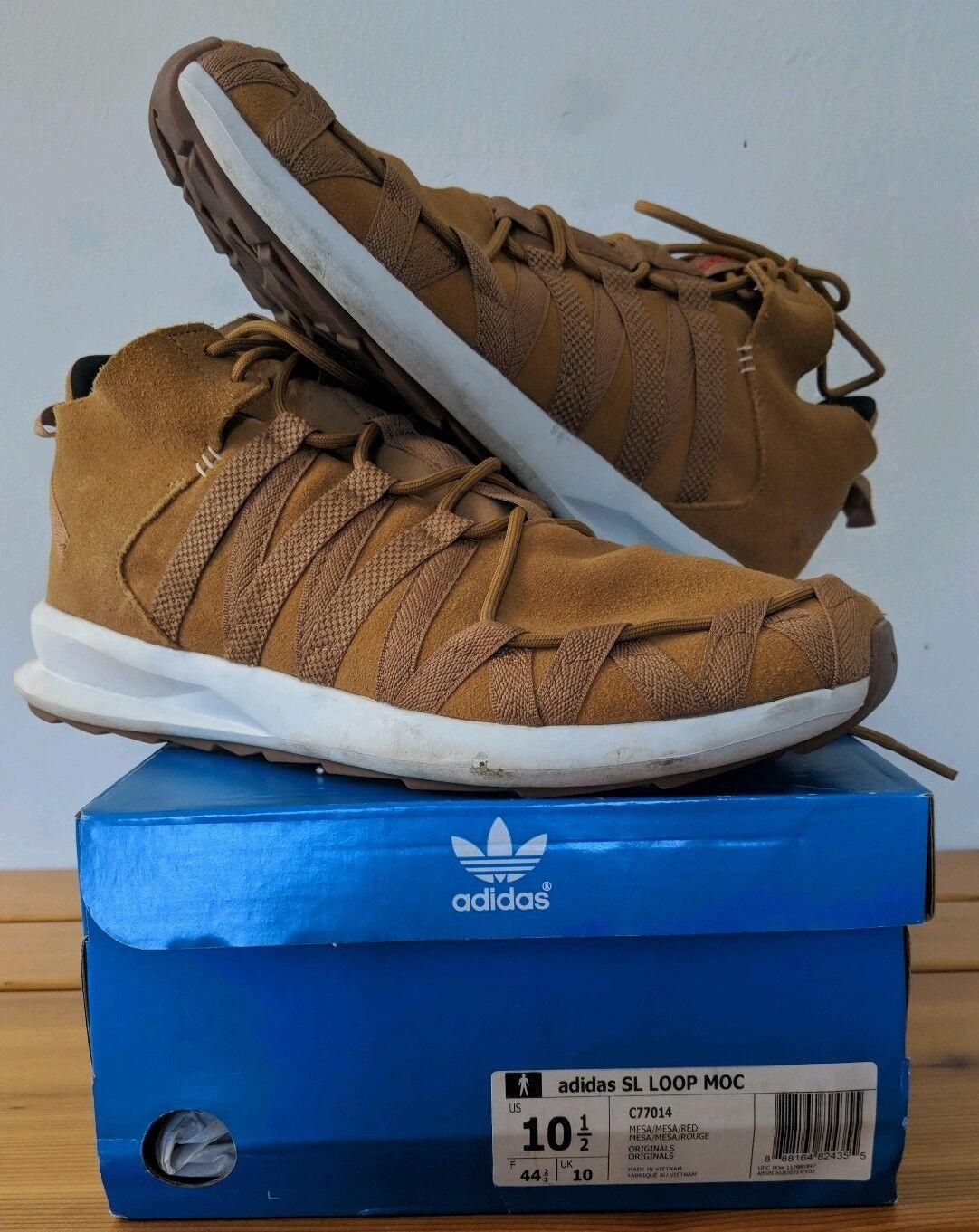 Mens Adidas 10.5 SL LOOP MOC Size 10.5 Adidas (C77014) aceb03
