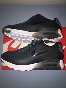 Authentisch Damen Leder Nike AIR MAX 90 SE W Schwarz Sneakers