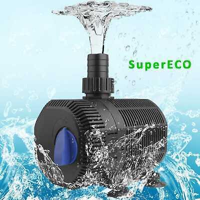Bachlaufpumpe Supereco 2300l/h Teichpumpe Aquarium Tauchpumpen Wasserpumpe Ipx8 FöRderung Der Produktion Von KöRperflüSsigkeit Und Speichel