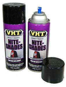 2 Can Nite Shade Tint Spray Headlights Tail Lights Lens