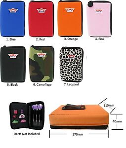 Bulls-Large-Darts-Case-Wallet-Holds-2-Sets-Fully-Loaded-Choice-of-Colours