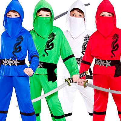 Dress Up America Costume de guerrier ninja enfants