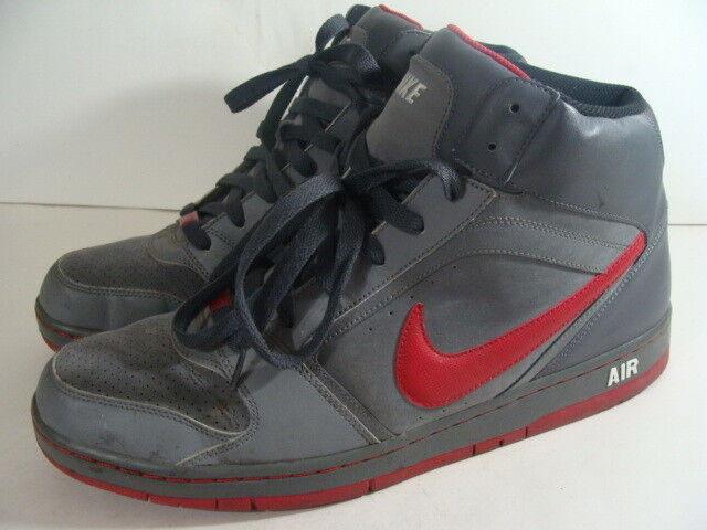 fd371a8bb7f4 Mens Mens Mens Nike Air Prestige II Grey Hi High Top Leather 335808-004  Size 14 M c29a64