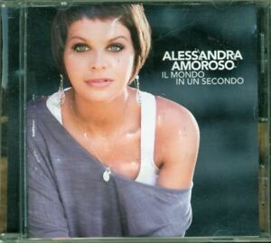 Alessandra-Amoroso-Il-Mondo-In-Un-Secondo-Libretto-Rovinato-Cd-Spedito-in-48-H