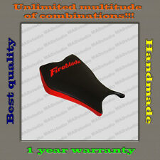 "Custom Design Front Seat Cover HONDA CBR1000RR 08-11 BLACK+RED ""Fireblade"" 001"