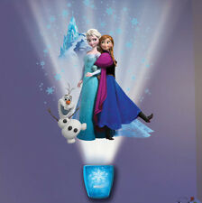Wild Walls DISNEY FROZEN wall stickers 38 decals with LIGHT & SOUNDS Elsa Anna