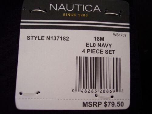 Infant /& Boys Nautica $79.50 4PC 18 Month Suit Sizes 12 Month 24 Month /& 5