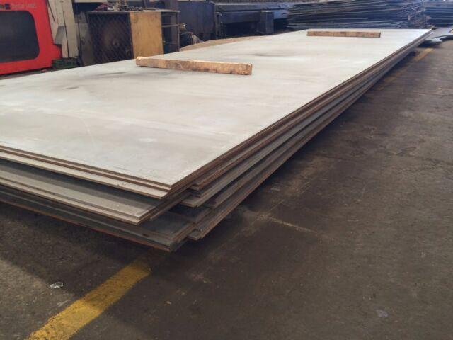 """1//2/"""" .500 HRO Steel Sheet Plate 5/"""" x 10/"""" Flat Bar A36"""