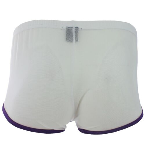 Men Lingerie Mesh Underwear See-through Boxer Briefs Shorts Bulge Pouch G-string