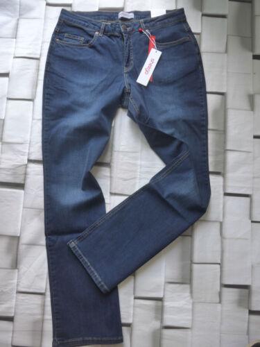 Sheego Jeans Stretch Pantaloni Tg. 42 a 50 normale e breve MIS. BLU tono (426)