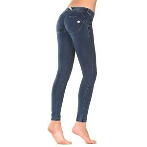 huge discount 6b3e6 915ad Details about Freddy WR. Up Pant + Body Tribute Push Up Wrup 1lj1e Denim  Jeans Hipster- show original title