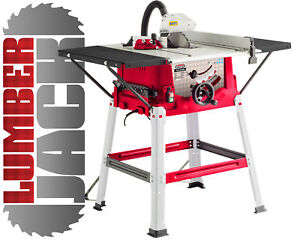 """Table Saw 10"""" Inch with side extensions 250mm and long fence"""