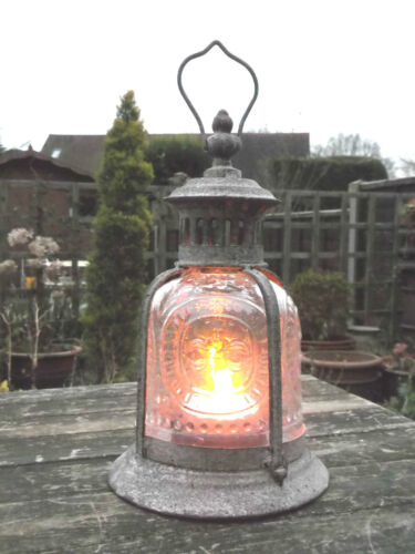 Antique French Vintage Style Large Garden Lantern Candle Holder Indoor Outdoor