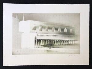 Peter-Paul-Ohne-Titel-farblithographie-1976-a-mano-firmata-e-datata