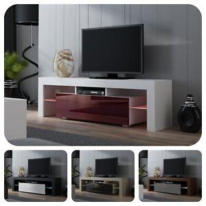 Details Sur Moderne Meuble Tv Avec Televiseur De 160 Cm Porte Brillante 16 Couleurs M16