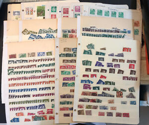 Lot-of-Germany-Stamps-un-checked-mint-used-On-Dealer-Stock-Pages