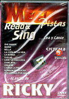 Mega Pistas Al Estillo De Ricky, Brand Factory Sealed Dvd (2003, Mega Music)