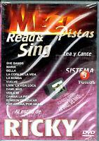 Mega Pistas Al Estillo De Ricky, Brand Factory Sealed Dvd (2003, Mega Music)