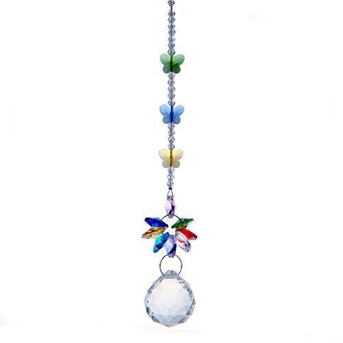 H&d Handmade 30mm Crystal Ball Chandelier Prisms Butterfly ...