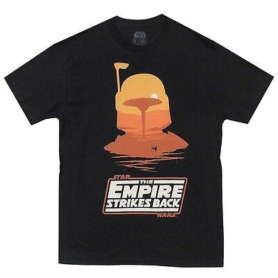 Star Wars The Empire Strikes Back Boba Fett Licensed Adult Shirt S-XXL