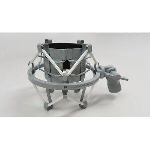 mxl 57 custom shock mount for v67 v69 2006 other 47mm microphones white grey 801813178432 ebay. Black Bedroom Furniture Sets. Home Design Ideas