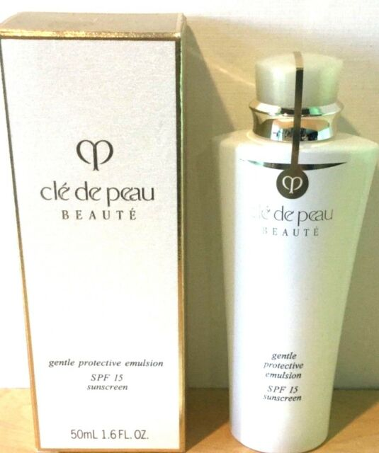 Cle de Peau Beaute Gentle Protective Emulsion SPF15  50ml./1.6oz. New In Box